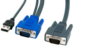 ARTICONA KVM Cable VGA USB 3m