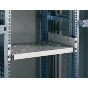 2U Non-retractable Shelf, 400 mm Depth