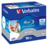 Verbatim Blu-ray BD-R 50GB 6x JC(10)