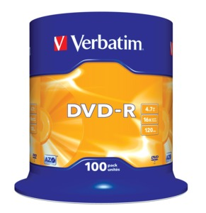 Verbatim DVD-R 4,7 GB 16x SP (100)