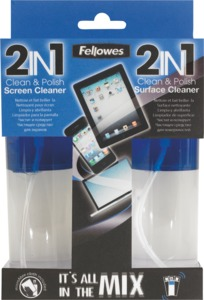 Fellowes 2-in-1 Tablet Reinigungsset