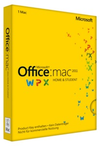 Microsoft Office Home and Student Mac