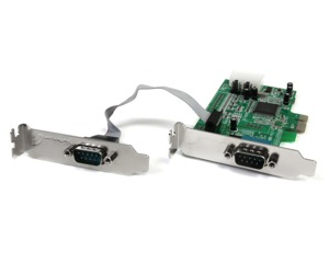 Carte PCI Express StarTech 2 ports LP