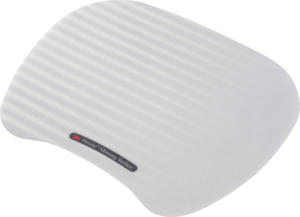 3M MS201MX Precision Mouse Pad Gry/White