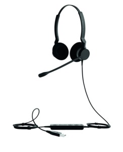 Headset Jabra BIZ 2300 USB MS duo