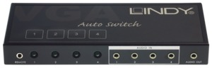 Lindy 4:1 VGA & Audio Selector