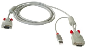 Kit câble Lindy commutateur KVM USB, 3 m