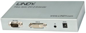 LINDY DVI-D Extender 300m Fibre Optic