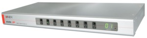 LINDY KVM Switch Combo-8 8-port 1 User