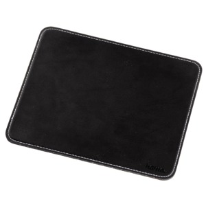 Hama Leather-look Mousepad, Black