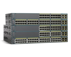 Cisco Catalyst WS-C2960+24TC-L Switch