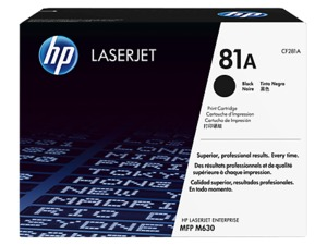 HP 81A Toner Black