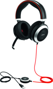 Headset Jabra Evolve 80 MS duo