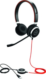 Headset Jabra Evolve 40 MS duo