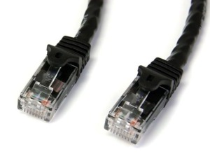 Patch Cable RJ45 Cat6 UTP 0.5m Black