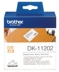 Brother Shipping Labels, 62x100 mm