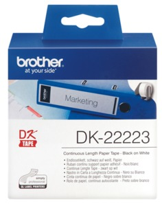 Brother Cont. Label, 50 mm