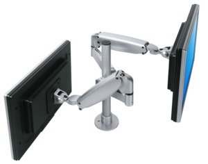 Dataflex Viewmaster Monitor Arm Dual