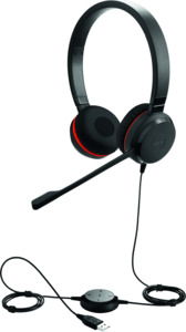 Headset Jabra Evolve 30 II UC duo