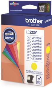 Brother LC-223Y Ink, Yellow