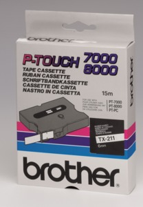 Brother TX-211 Labelling Tape