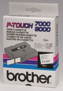 Brother TX-241 Labelling Tape