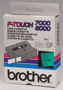 Brother TX-751 Labelling Tape
