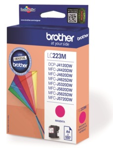 Brother LC-223M Ink, Magenta