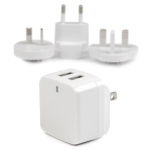 StarTech 2-Port USB Travel Charger White