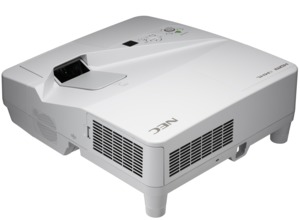 NEC UM301W Ultra-Short-Throw Projector