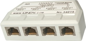 Lindy RJ45 Phone Line Splitter 1:4