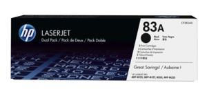 HP 83A Toner Black 2-pack