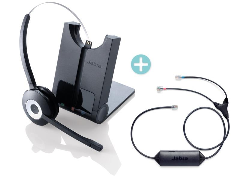 5848b86176a Buy Jabra PRO 920 Headset+EHS Adapter Bundle (920-25-508-101+14201-43)