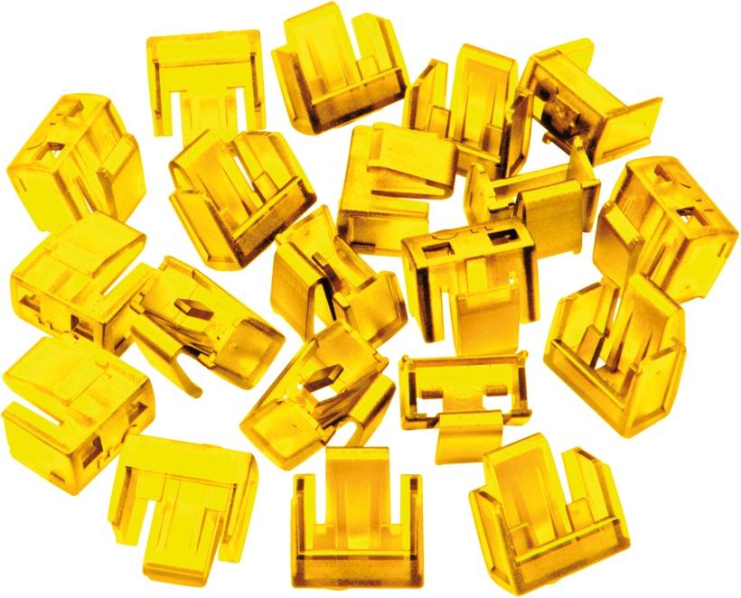 Buy Rj45 Port Blockers Yellow 20pcs 40483
