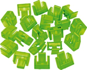 RJ45 Port Blockers, Green, 20pcs.