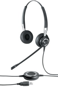 Casque Jabra BIZ 2400 II MS USB/BT duo