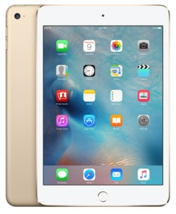 Apple iPad mini 4 128GB WiFi Gold