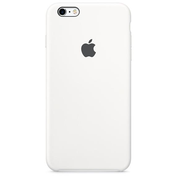 cf47c93130d Comprar Silicone Case p. iPhone 6s Plus, blanco (MKXK2ZM/A)