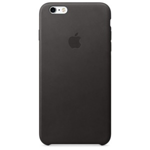 Apple iPhone 6s Plus Leder Case schwarz