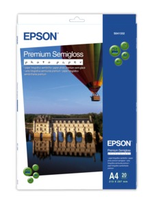 Epson Premium Semi-gloss A4 Photo Paper