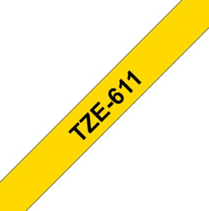 Brother TZE-611 Labelling Tape