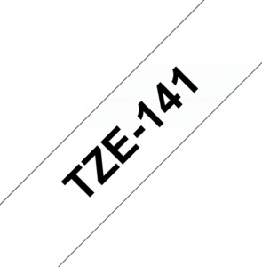 Fita de etiquetagem TZE-141 Brother