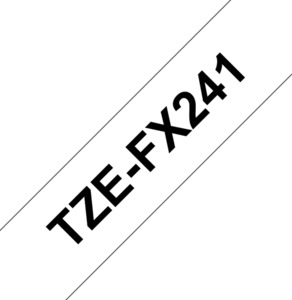 Brother TZe-FX241 Flexi-Tape for Labels