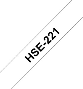 Brother HSe-221 blanc, 8,8 mm