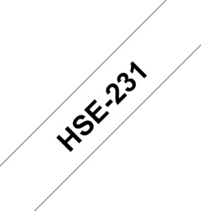 Brother HSe-231 White 11.7mm