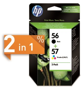 HP 56 + 57 Ink 2-Pack