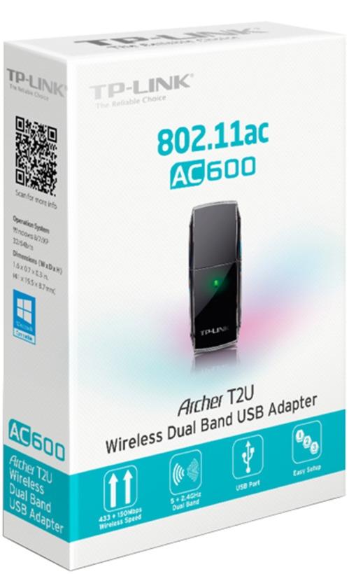 Buy TP-LINK Archer T2U AC600 WLAN USB Stick (ARCHER T2U)