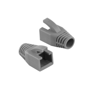 RJ45 Connector Boots Grey 50-pack