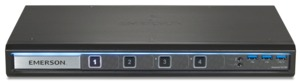 Comm. KVM Avocent SwitchView240 4 ports