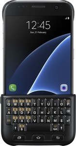 Samsung Galaxy S7 Keyboard Cover schwarz